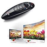 BRAND NEW TV remote control for LG LED TV Magic Motion AN-MR500 For 2014 Series Smart Tv with Browser Wheel For Easy Web Site Search. With the ingeniously inventive LG AN-MR500 Magic Remote Control you'll be able to use your voice, gestures and point and