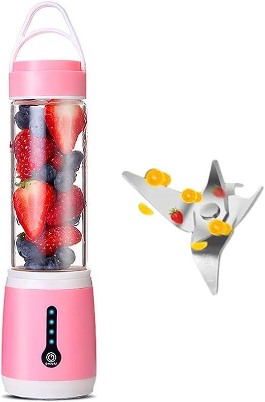 TXDY Mini licuadora USB, Extractor y Mezclador de Jugo de Frutas ...