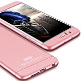 Honor 8 Case,GKK Double Dip Ultra Slim Knight Series For Huawei Honor 8 Hybrid PC [HARD] Full Protection Matte Phone Case (Rose Gold)