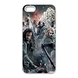 Iphone 5,5S The Hobbit 3 Phone Back Case Personalized Art Print Design Hard Shell Protection HGF051220
