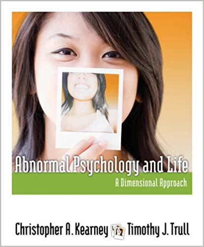 Amazon abnormal psychology and life a dimensional approach amazon abnormal psychology and life a dimensional approach psy 254 behavior problems and personality 9781111343767 christopher a kearney fandeluxe Images