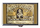 Best Case In Point 4.0 Pill Boxes - William Shakespeare Smoking Tobacco Tin Guitar Pick or Review