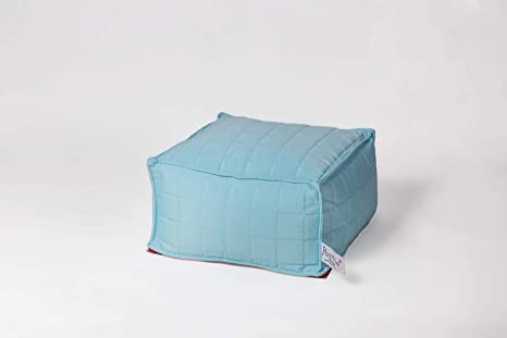 Amazon.com: Pozitivebeanbags Square - Puf para salón Ideal ...