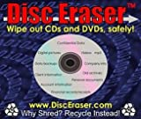 New Compact Media Eraser for CD, CD-R, DVDR +R -R DL, RW Spindle. 100% Safe, No Shredding, No Waste! Easy to use. TOP 30 INVENTION on ABC's AMERICAN INVENTOR, available NOW!!!