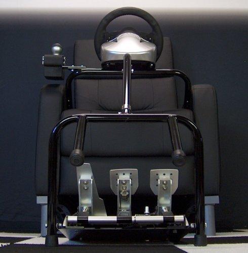 (XL21 Xlerator Wheel Stand, Big Boy Lap Bar for Logitech G27 and Fanatec Wheels)
