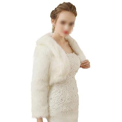 Mantón Bufanda Abrigo de invierno cálido para mujer Mantón nupcial de manga larga Espesar Abrigo Bufandas