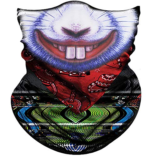 Obacle Half Face Mask Sun Dust Wind Protection Durable Tube Face Mask Bandana Skull Skeleton Face Mask For Men Women Bike Riding Motorcycle Fishing Hunting Cycling Outdoor Sport Festival Many Patterns