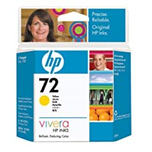 New - HP 72 Yellow Ink Cartridge - M93592 [Electronics]