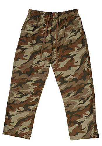 North 15 - Men's Polar Fleece Lounge Pants - XX-Large, CamoPrint4