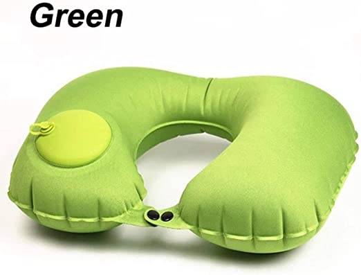 U Shape Inflatable Neck Pillow