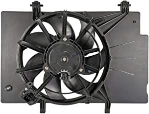 Focreedy FD4004 Replacement Engine Radiator Cooling Fan Assembly For Ford Fiesta L4 1.6L 2011-2019