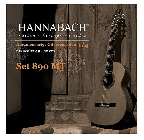 Hannabach 890 MT 1/4 Children Guitar Set (G3 plain) Scale 49-52cm