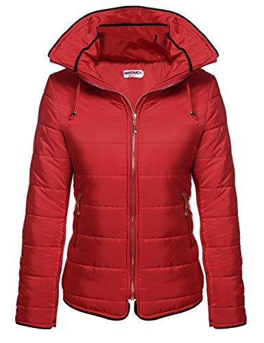 HOTOUCH Women's Winter Coat Short Down Puffer Jacket with Hood (Womens Winter Coats Short)