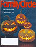 * BRAND NEW! STILL FACTORY SEALED! * Halloween Issue * Comfort Food Classics * Instant Organizing * 6 Diets That Really Work * October, 2014 Family Circle Magazine