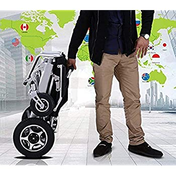 Amazon.com: 2019 Updated ComfyGo Electric Wheelchairs Silla ...