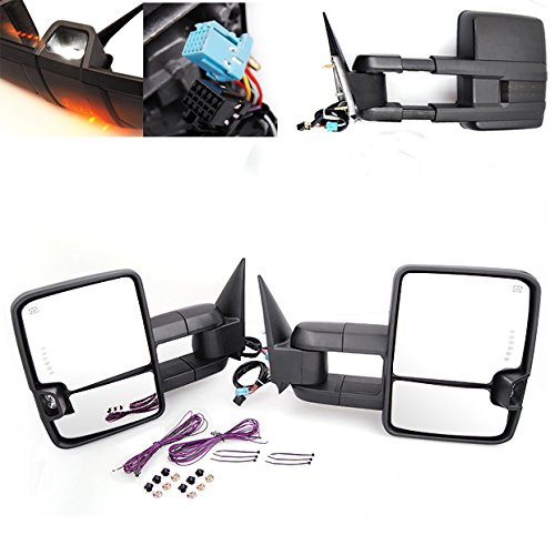01 chevy tow mirrors pair - 9