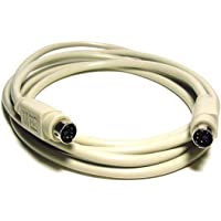 Monoprice PS/2 Cable - 25 Feet - MDIN-6 Male to Male
