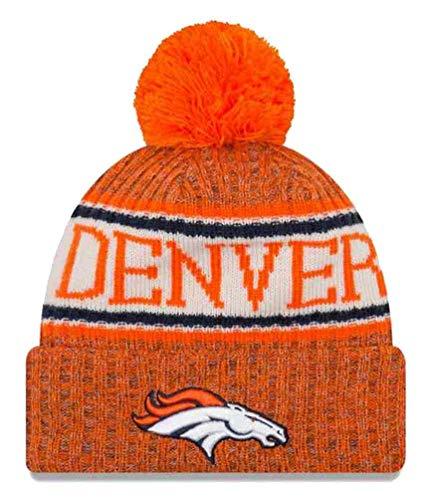 New Era Denver Broncos NFL 2018 On Field Sport Knit