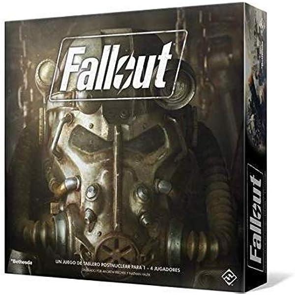 Fantasy Flight Games- Fallout: El Juego de Tablero, Color (FFZX02 ...