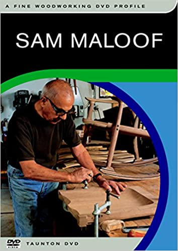 Sam Maloof: Woodworking Profile. DVD edition: Taunton Press: 9781561588107: Amazon.com: Books