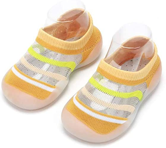 Unisex Kids Baby Elastic Breathable Socks Shoes Trainers Baby