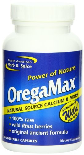 North American Herb & Spice Oregamax, 90 Vegetable Capsules (3-Pack)