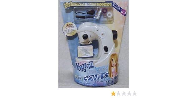 Amazon Bratz Real Designed Sewing Machine Toys Games Impressive Bratz Sewing Machine Reviews