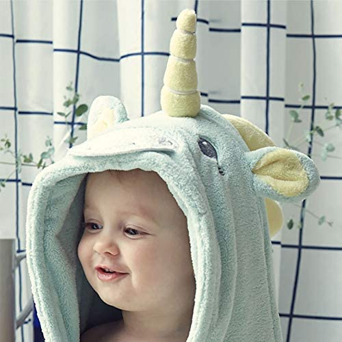 100/% Cotton Hooded Towel for Kids Unicorn Designed Bath Towl//Beach Towel Bebamour Hoooded Baby Towel for Bath//Beach Ultra Soft Children Swimming//Bath Towel with Hood for Girls//Boys Pink