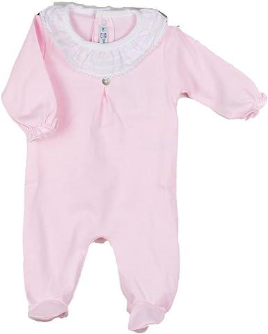 CALAMARO - Pelele Pijama Algodon bebé-niños: Amazon.es: Ropa y ...
