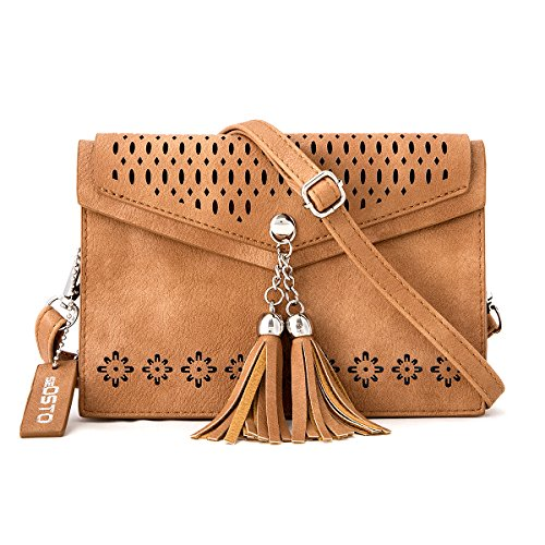 Double Compartment Crossbody seOSTO Tassel product image