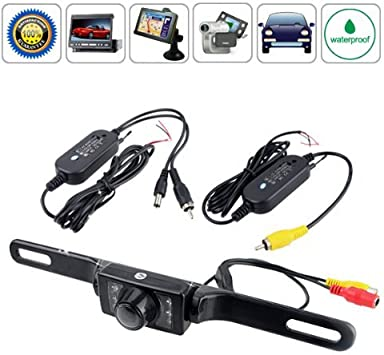 BW E322 LED Night Vision Wide-Angle Rearview Camera