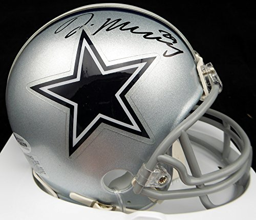 DEMARCO MURRAY AUTOGRAPHED DALLAS COWBOYS MINI HELMET BECKETT BAS STOCK #117243