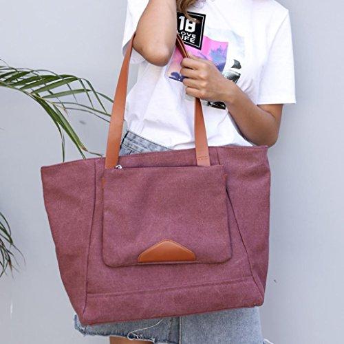 De Compras Bolso Logobeing Bolso Shoppers Ocio E Gran Viaje Grandes de de Lienzo Mujer Para y Capacidad Bolsos Hombro Mano Mujer de de AwCvXwFq