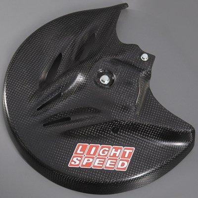 Yamaha GYT-0SS56-30-29 Carbon Fiber Front Disc Guard for Yamaha YZ250F ()