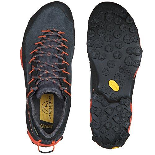 La Sportiva Mutant Hardloopschoenen Dames Trail - Ss18 Tx4 Gtx Carbon / Flame Talla: 40
