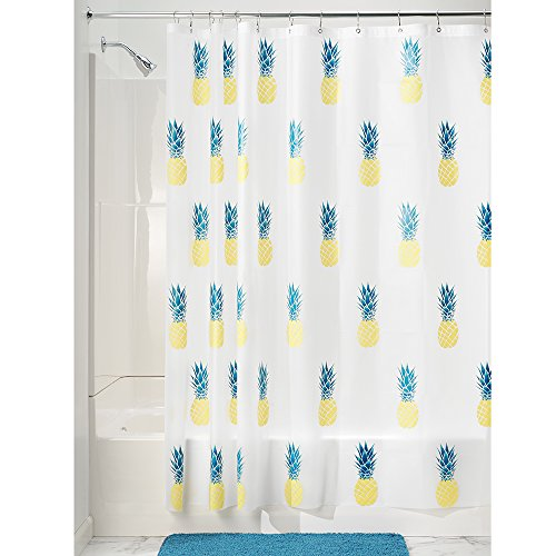 InterDesign Pineapple Pvc-Free Peva Shower Curtain, 72