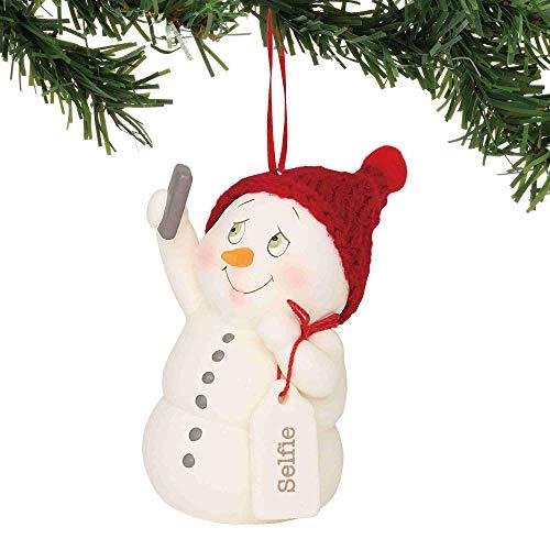 "Department 56 Snowpinions Selfie, 4"" Hanging Ornament, Multicolor"