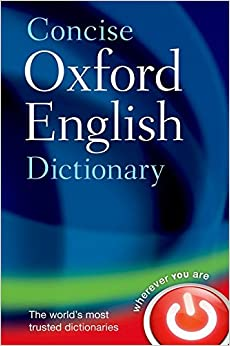 Image result for oxford concise dictionary