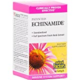Natural Factors – Echinamide, Immune System Support with Organic Echinacea, Reishi, Astragalus, 60 Softgels