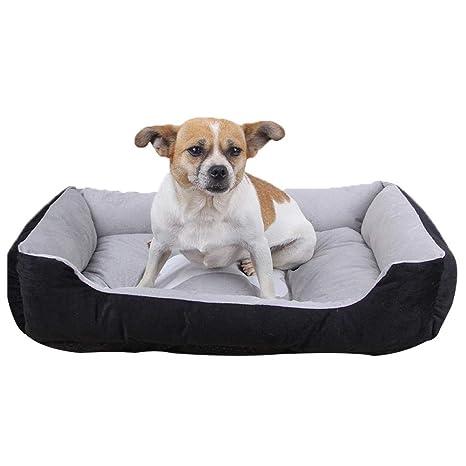 Biback Mascotas Cama para Perros Gatos Cojín Cama Suave para Perros Perros Dormir Espacio Gato Techo