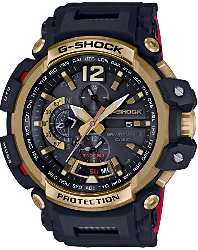 - Casio GPW2000TFB-1A Men's Watch Gravitymaster G-Shock 35th Anniversary Limited Edition Black/Gold