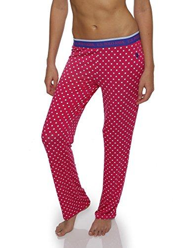 U.S. Polo Assn. Womens Super Soft Casual Lounge/Sleepwear Long Pajama Pant
