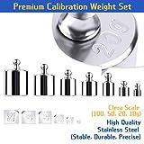 UCEC Calibration Weight Kit, 10mg - 100g Gram
