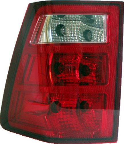 TYC 11-6077-00 Jeep Grand Cherokee Passenger Side Replacement Tail Light Assembly ()