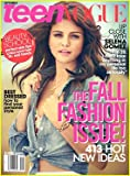Teen Vogue Magazine (September, 2012) Selena Gomez Cover