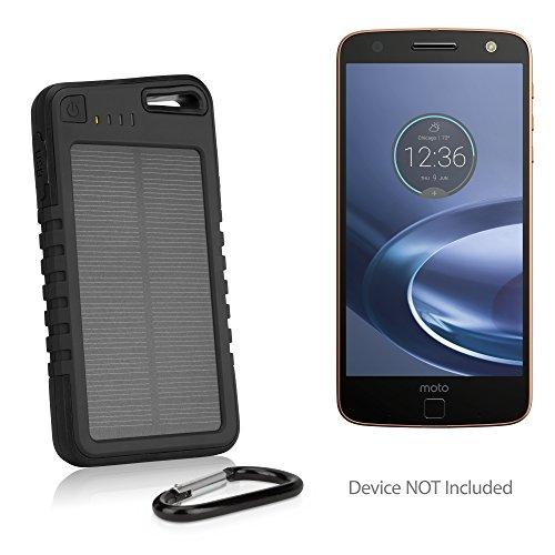 Motorola Moto Z Force Droid Battery, BoxWave ] Solar Powered