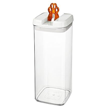bremermann® Dispensador de pienso con tapa para olores y decoración de zarpa (3,