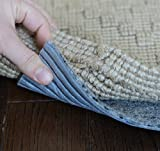 9' x 12' Eco-Fiber Touch Non Slip Rug Pad 1/4'' Thick - SAFE for all floors