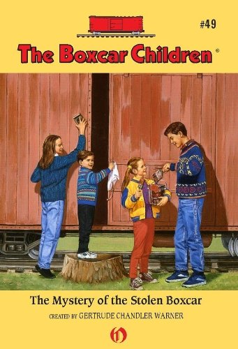 (The Mystery of the Stolen Boxcar (The Boxcar Children Mysteries Book)