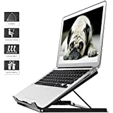 1homefurnit Adjustable Laptop Tablet Stand Notebook Riser Holder Ergonomic Portable MacBook
